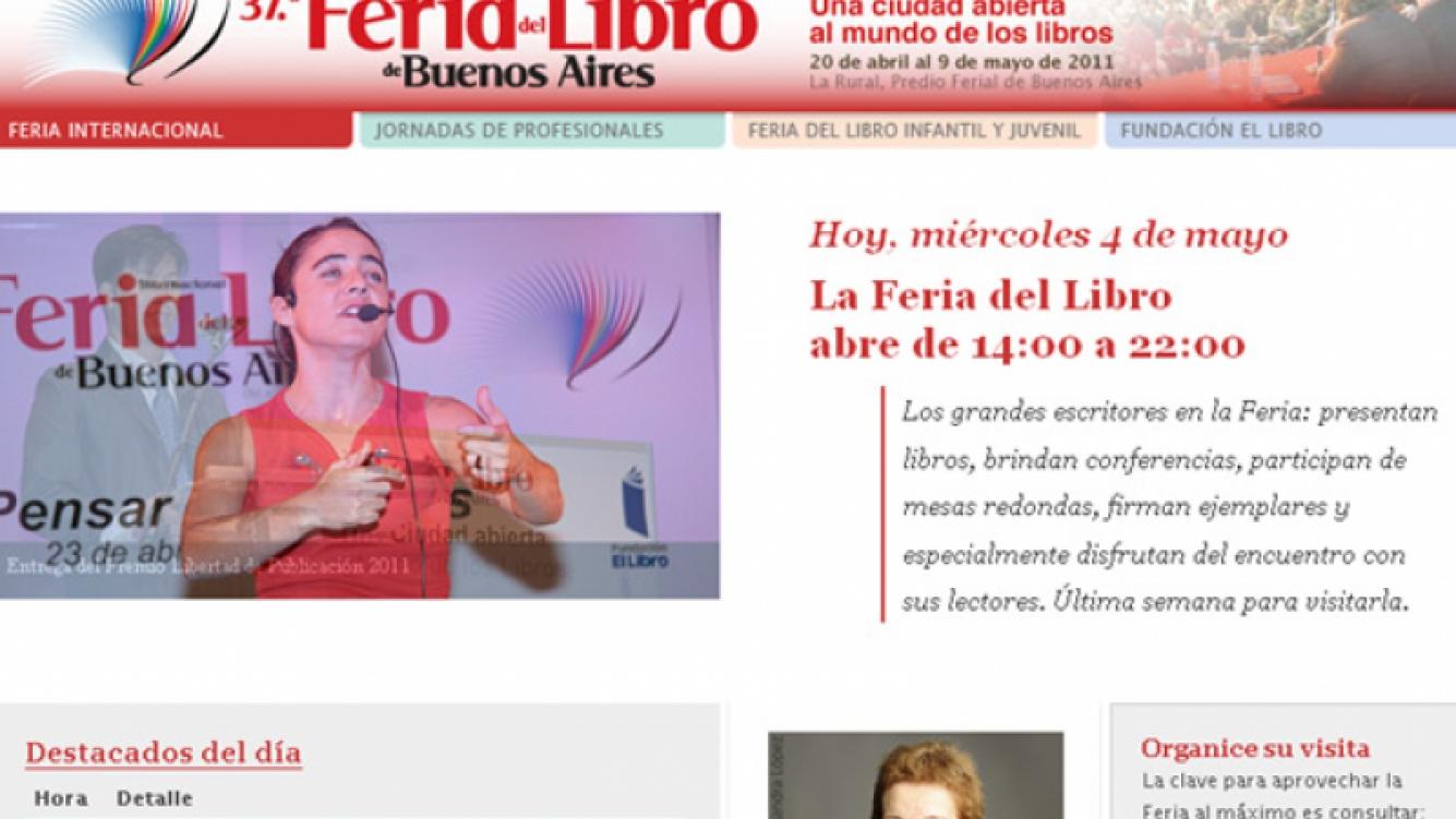 Ciudad.com te invita a la Feria del Libro