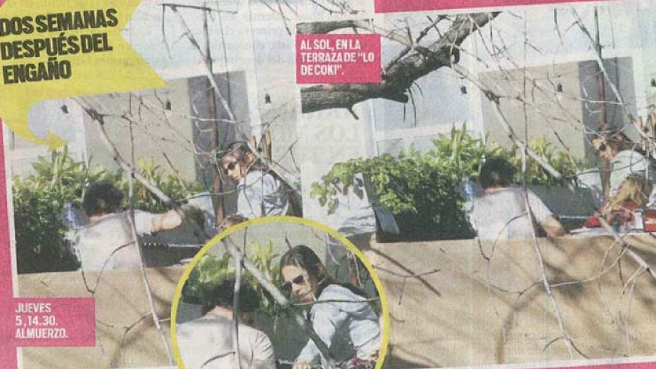 Juanita y Gonzalo, en Colegiales. (Foto: diario Muy)