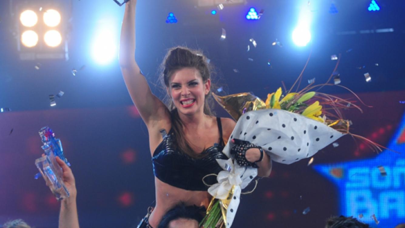 Eugenia Lemos festeja su triunfo (Foto: Jorge Luengo)