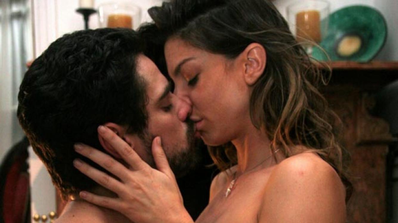 Mercedes (Romina Gaetani) y Antonio (Luciano Castro). (Foto: Pol-ka)