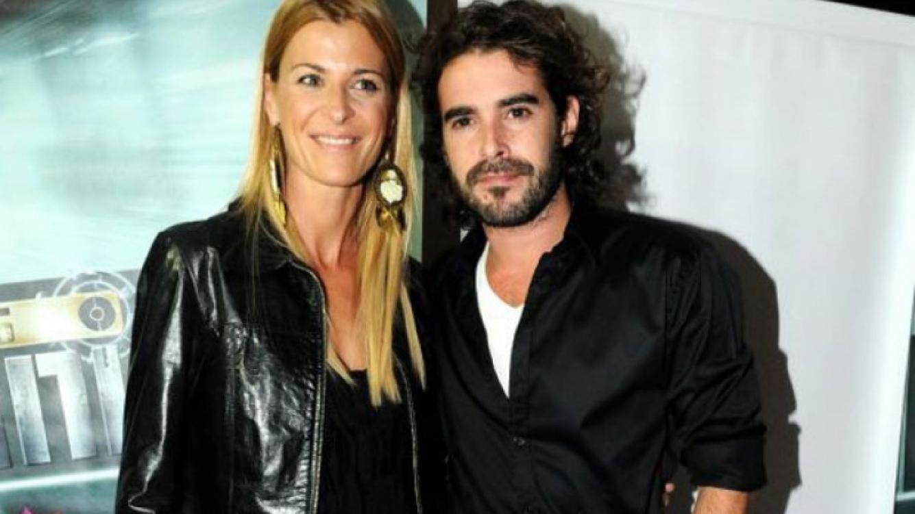 La pareja de actores en el último festejo de Los Unicos (Foto: Prensa El Trece)