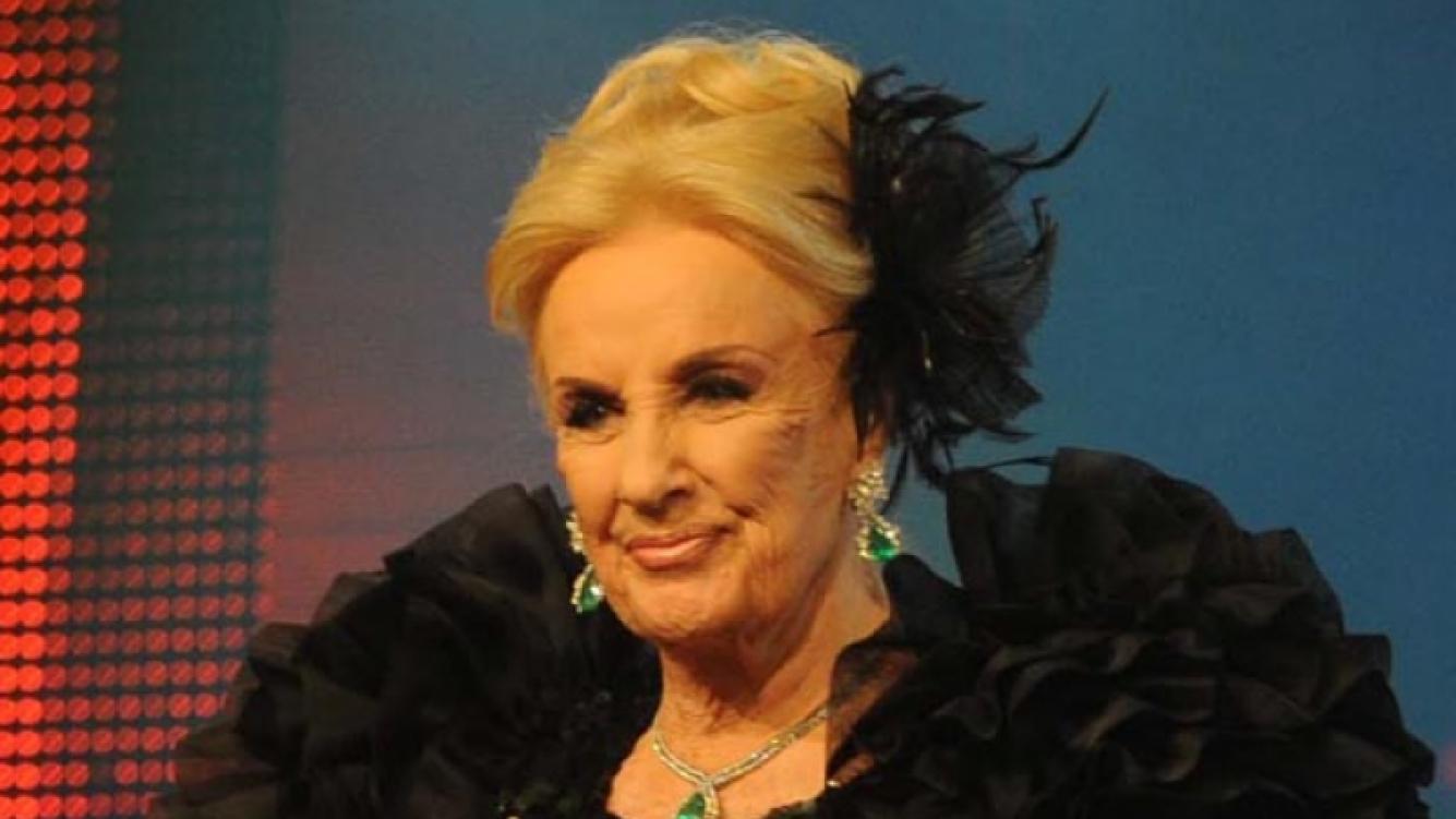 Mirtha Legrand. (Foto Web)