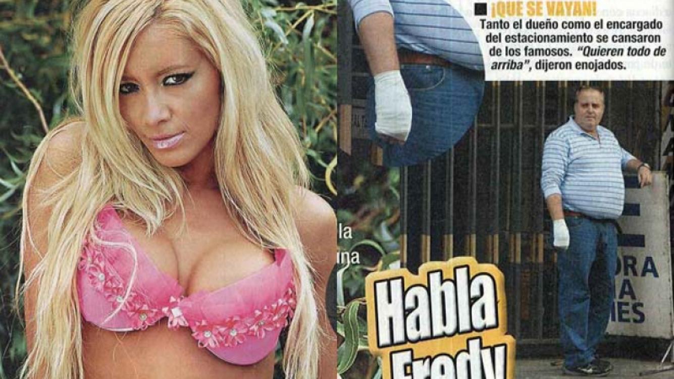 Claudia Ciardone, acusada por Fredy. (Foto: revista Paparazzi)