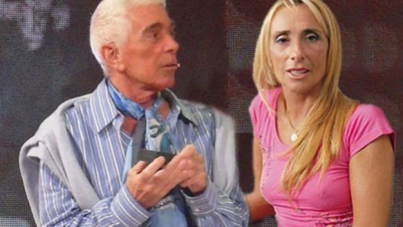 Carlos Perciavalle y Glady Florimonte. (Foto: Web)