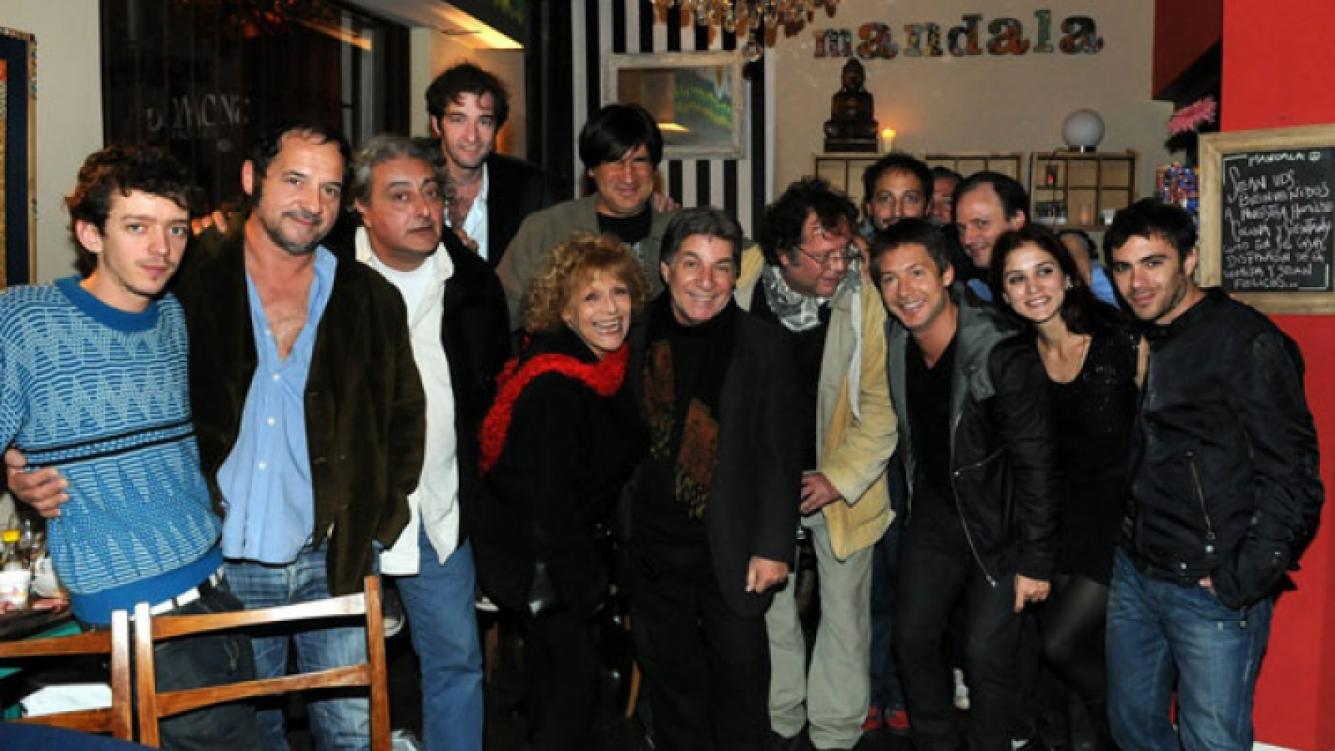 Todo el team de El Puntero, en Mandala restó (foto: Prensa El Trece)