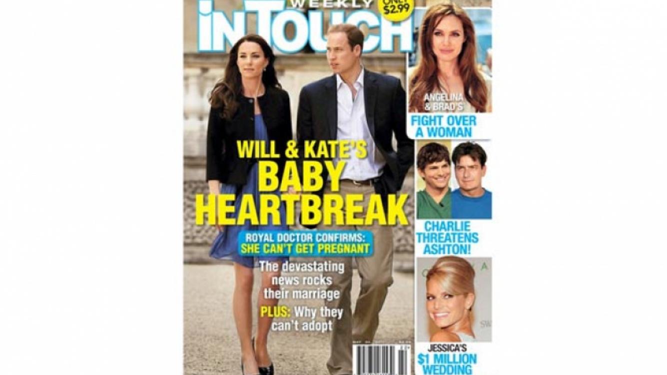 In Touch Weekly, la portada de la discordia. (Foto: Web)