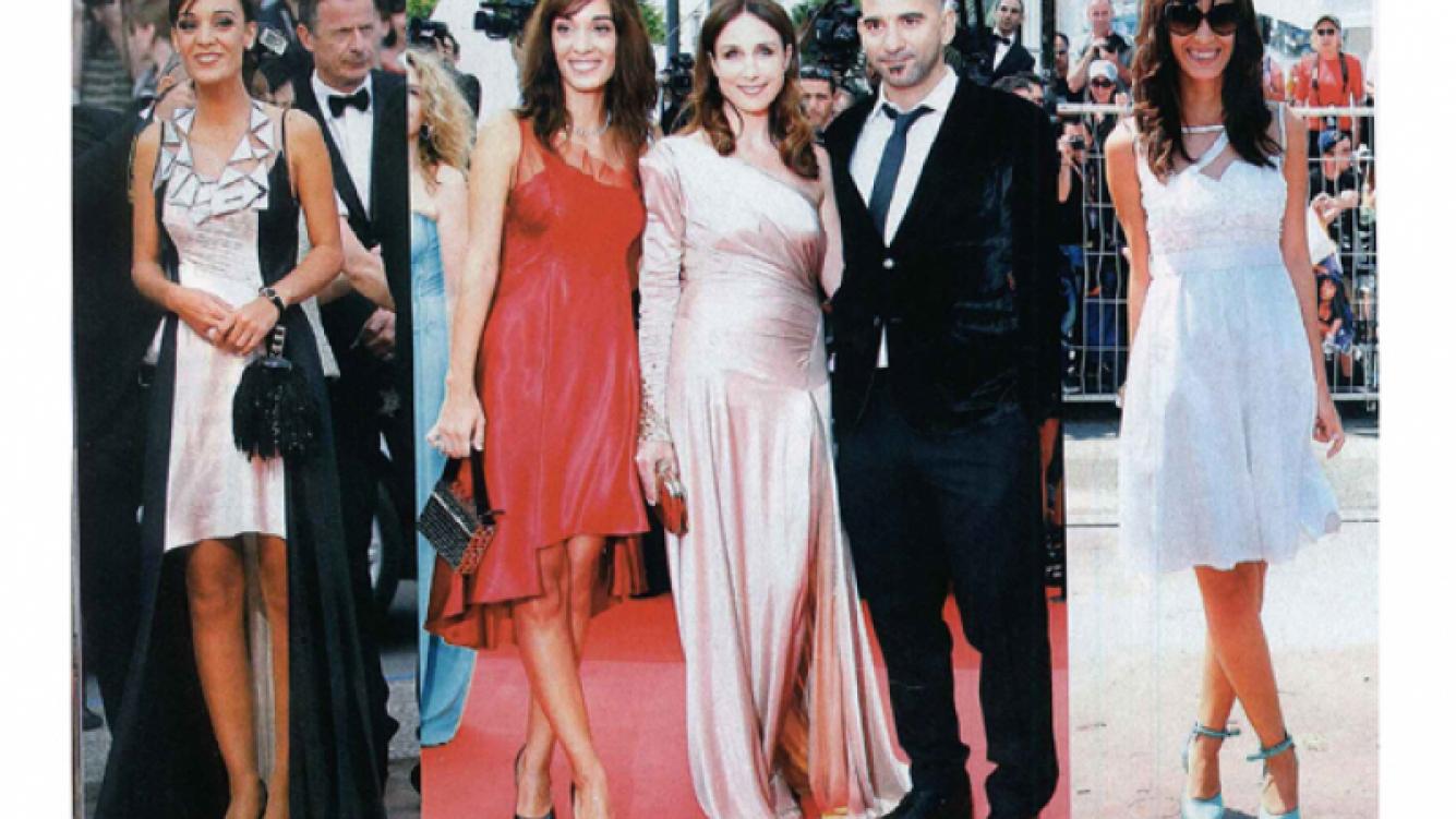 Martina Gusmán en Cannes (Foto: Revista Gente)