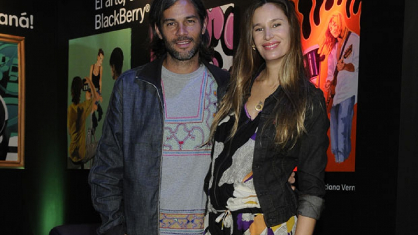 Dolores Barreiro se irá embarazada a la India con Matías Camisani. (Foto: ArteBA)