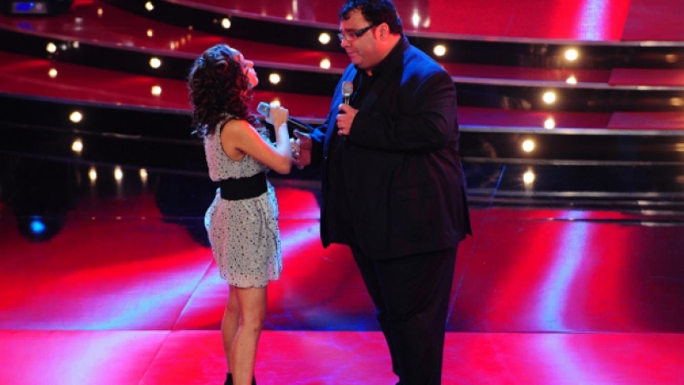 """Daniel """"La Tota"""" Santillán fue el primer eliminado de Cantando 2011 (Foto: Ideas del Sur)."""