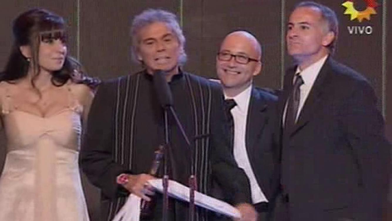 Beto Casella ganó con Bendita como mejor programa periodístico. (Foto: captura TV)
