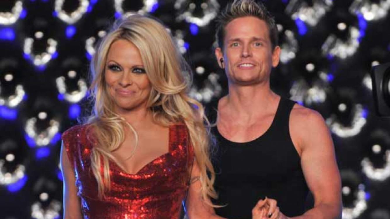 Pamela Anderson y Damian Whitewood en Bailando 2011. (Foto: Ideas del Sur)