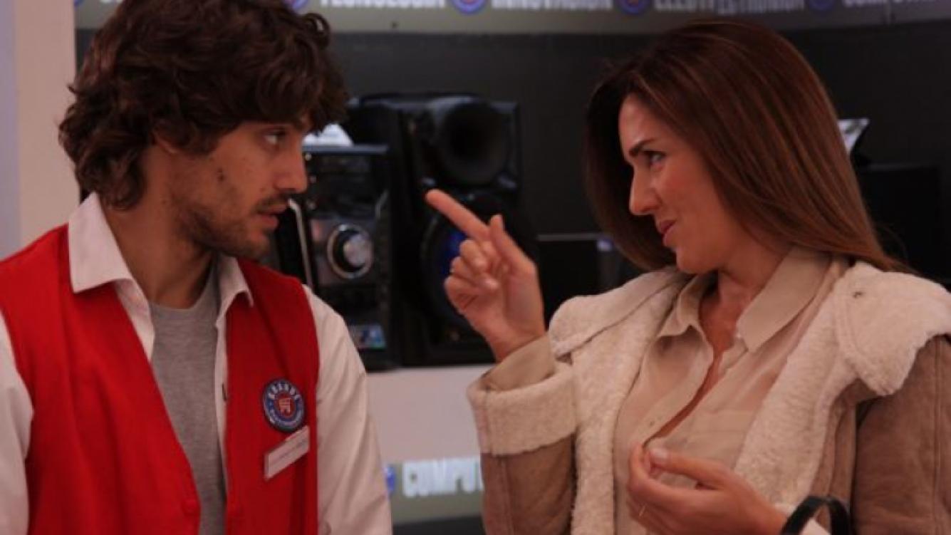 El regreso de Andrea Frigerio a la tele. (Foto: Prensa Telefe)