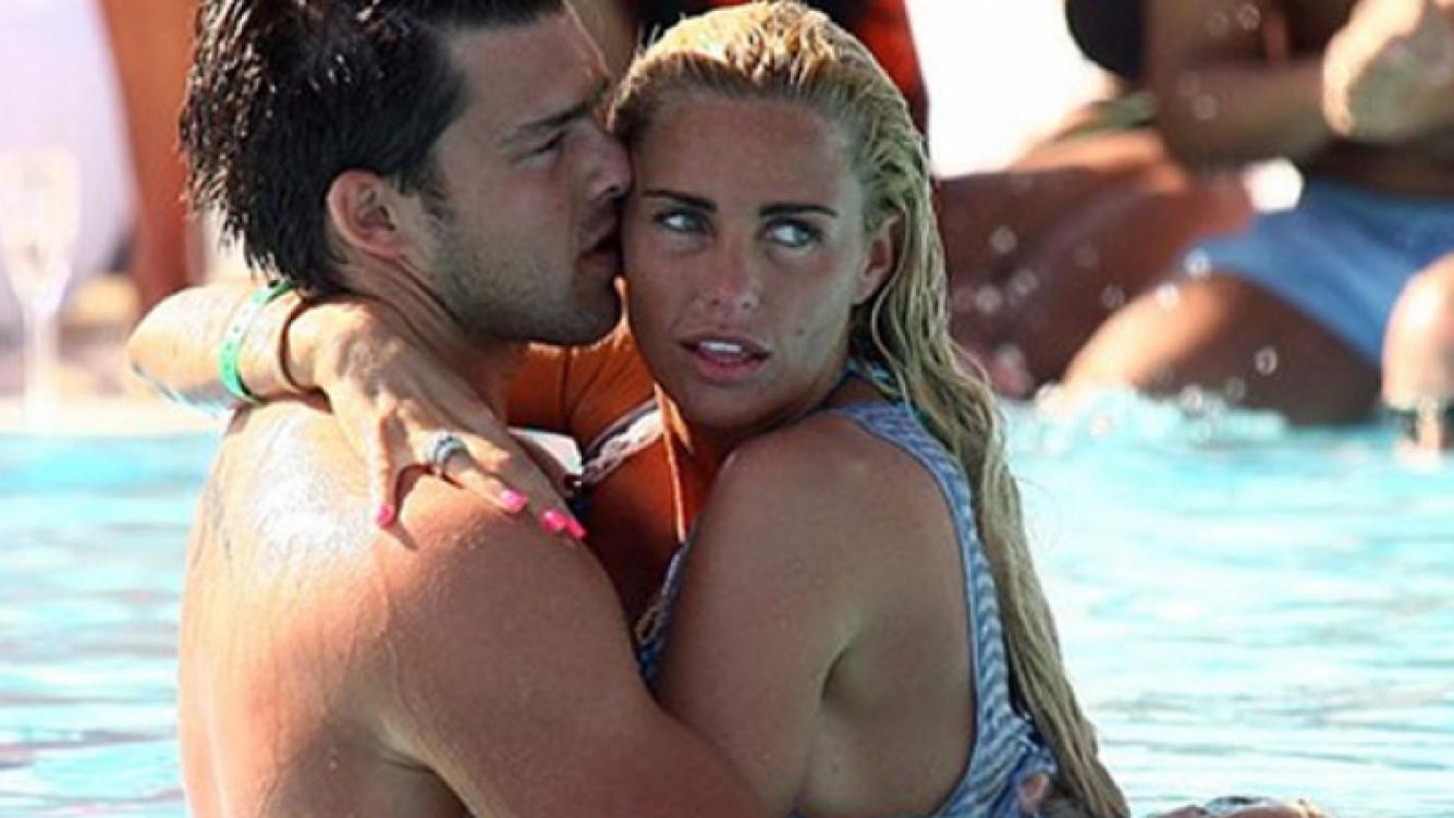 Katie Price y Leandro Penna llevan juntos tres meses (Foto: The Mirror)