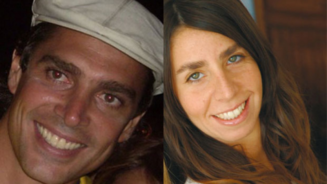 Matías Alé y Julieta Bal. (Fotos: Web)