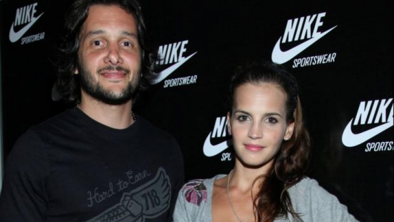 Germán Paoloski y Sabrina Garciarena, juntos.