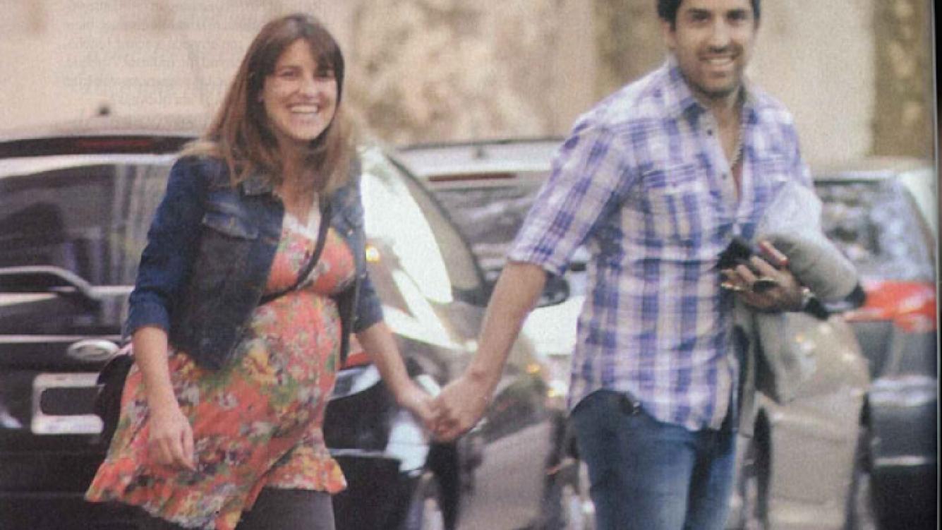 Maju Lozano y su marido Julián Varde. (Foto: revista Pronto).