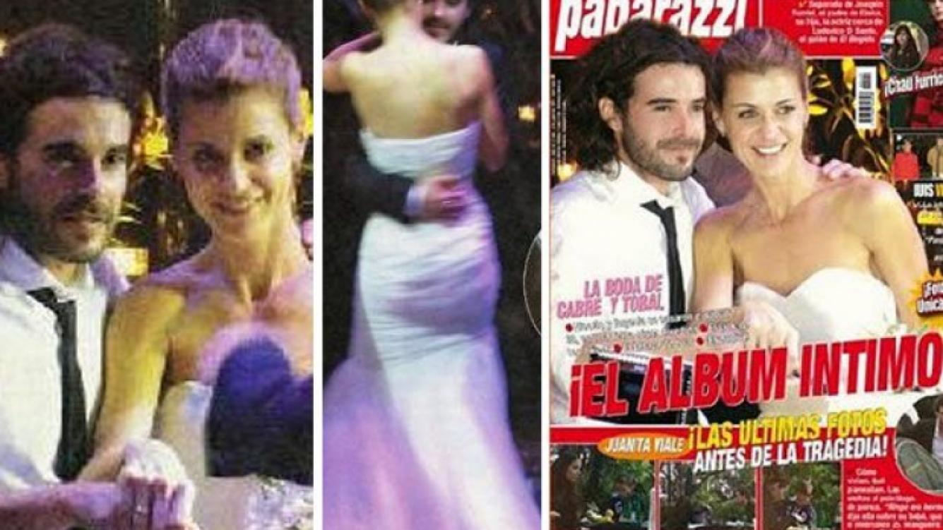 Cuánto se pagó por las fotos de la boda de Nicolás Cabré y Eugenia Tobal. (Fotos: Paparazzi)