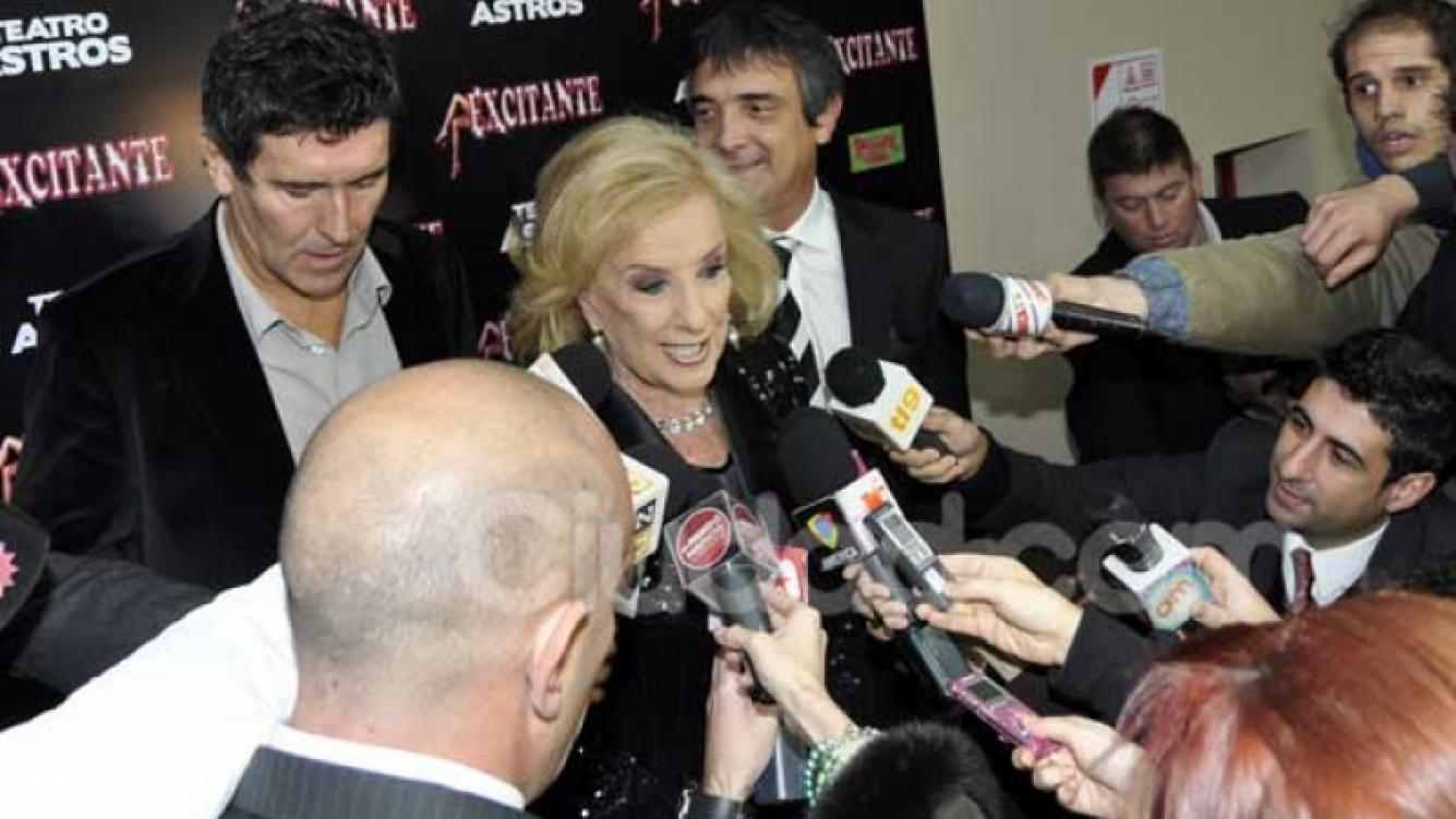Mirtha apareció en público tras la tragedia. (Foto: Jennifer Rubio-Ciudad.com).