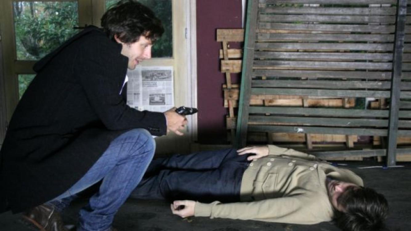 Benicio mata a Andrés en Herederos. (Foto: El Trece)