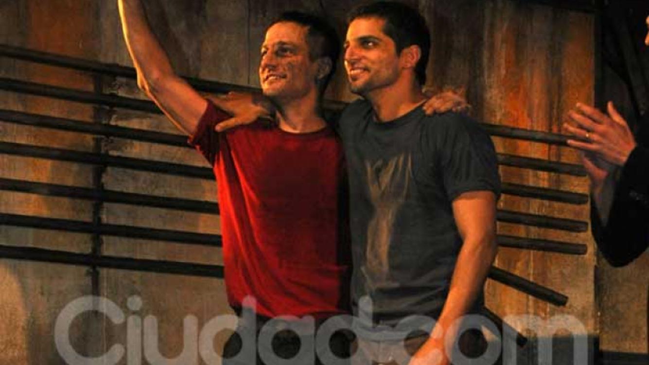De la Serna y Furriel debutaron con Lluvia constante. (Foto: Jennifer Rubio-Ciudad.com)