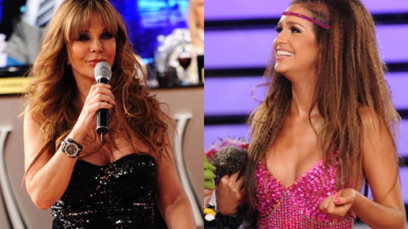 Graciela Alfano y Zaira Nara. (Foto: Ideas del Sur)