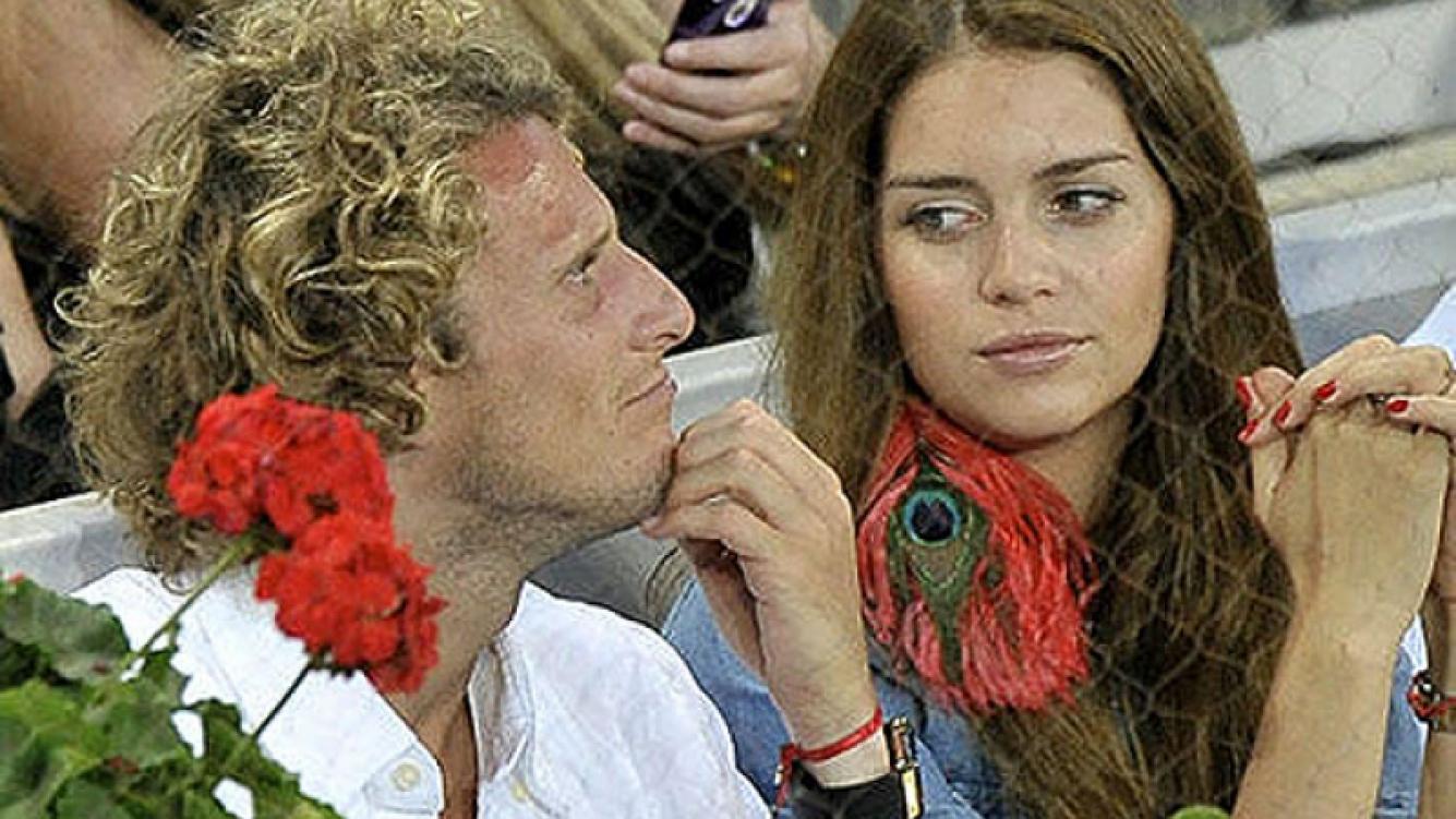 Diego Forlán no quiere saber nada con Zaira y le cambió la cerradura (Foto: Web).