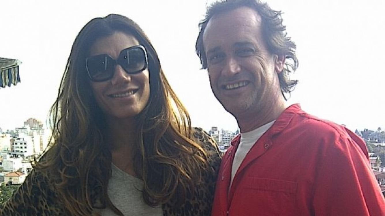 Ayer por la tarde, Flor en Jujuy con Daniel Meaglia, su personal trainner.