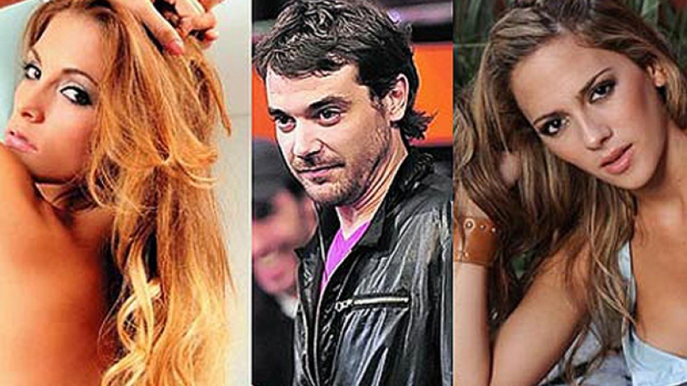 Coty, Peter y Rocío: ¿triángulo amoroso? (Fotos: Web y Ciudad.com)