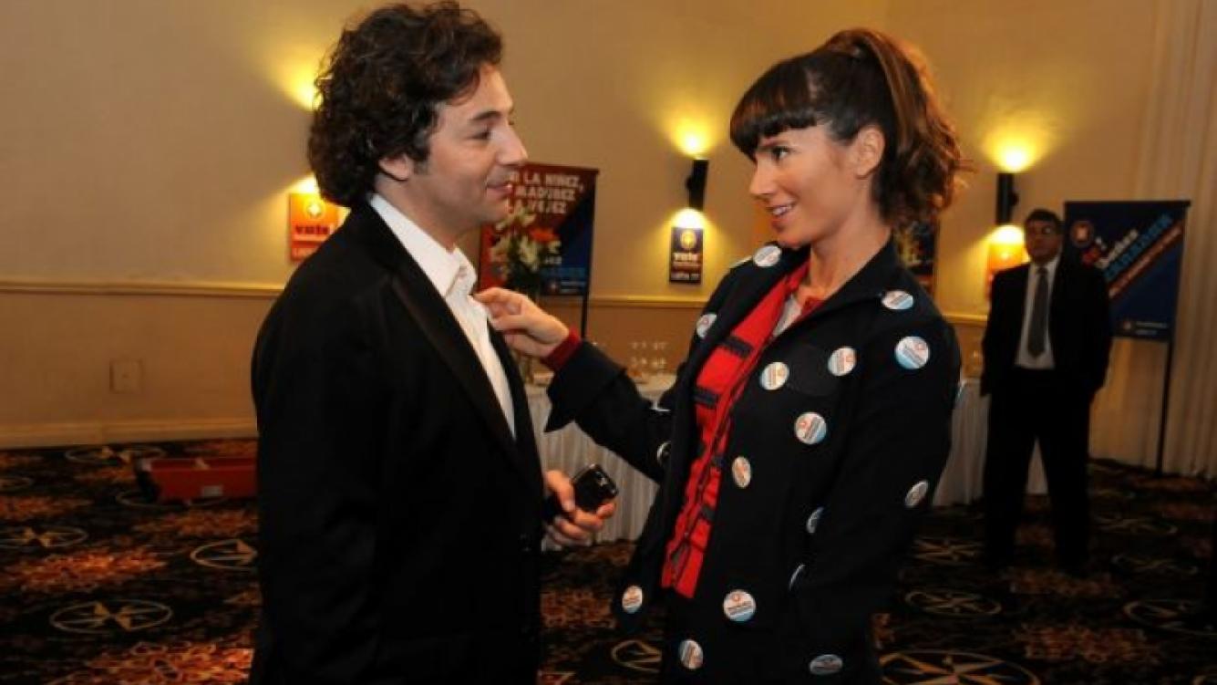 Fabián Vena y Griselda Siciliani en Los Unicos. (Foto: El Trece).