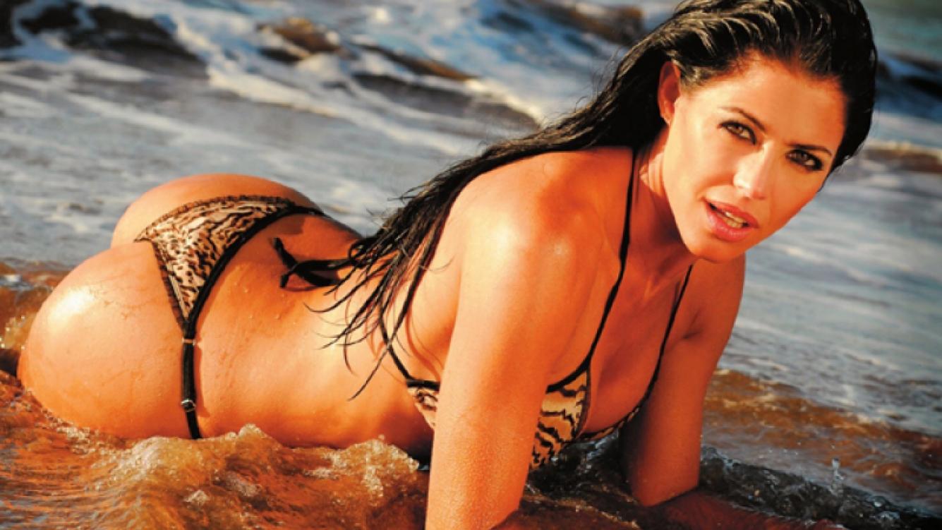 Fanática de River, Pamela prometió sacrificar su cabellera (Foto: Web)