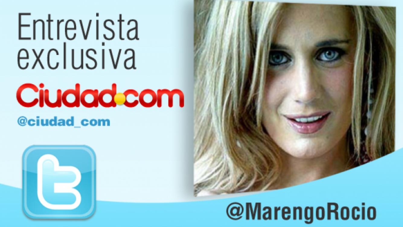 Seguí en vivo la entrevista vía Twitter a Rocío Marengo