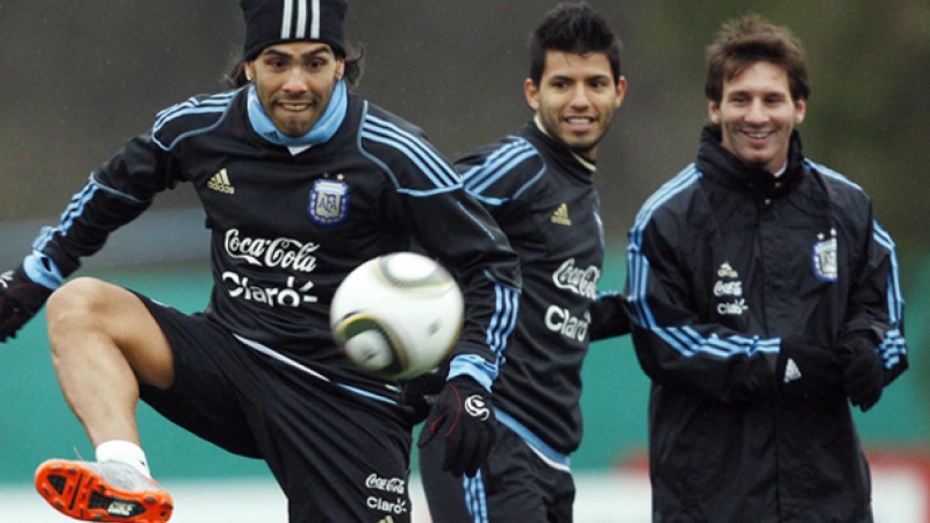 El trío se prepara para la Copa América (Foto: Web)