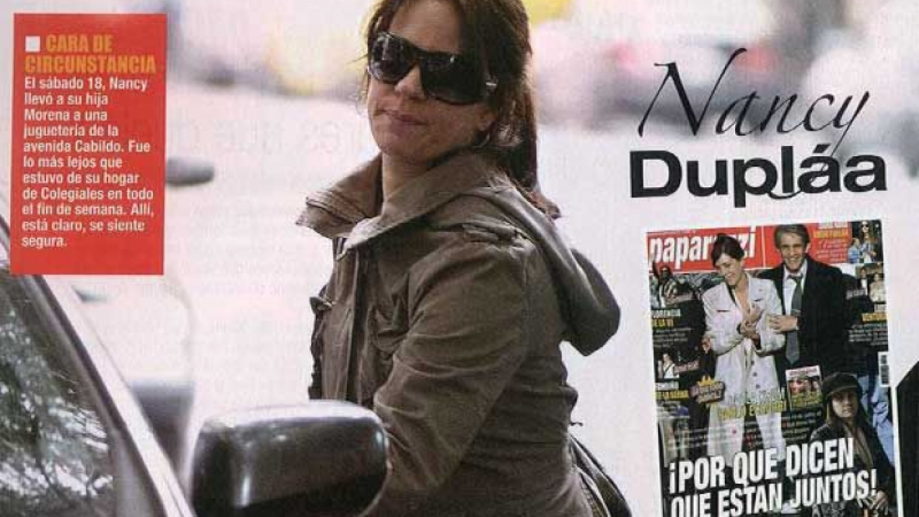 Nancy Dupláa. (Foto: Revista Paparazzi).