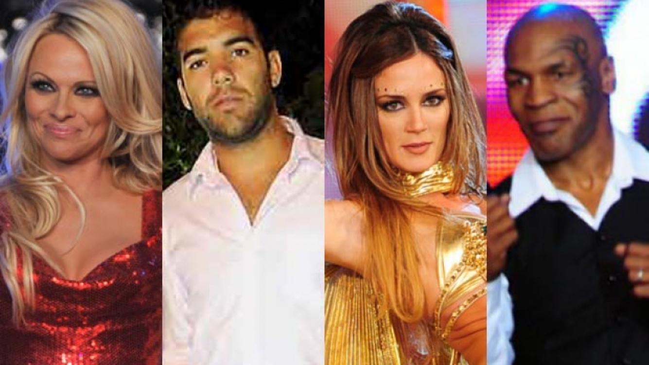 Pamela Anderson, Jorge Luengo, Paula Chaves, Mike Tyson. (Foto: Ideas del Sur.)