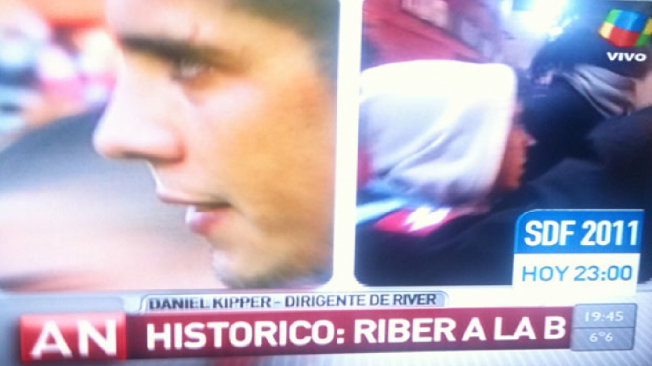 "El increíble videograph de América Noticias: ""Riber a la B"". (Foto: captura TV)"