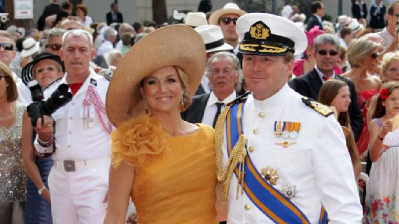 Los príncipes de Holanda fueron a la boda. (Foto: Southern Press)