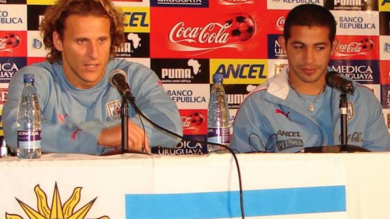 Diego Forlán habló en conferencia de prensa. (Foto: Web).