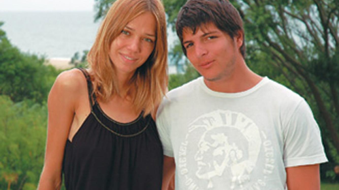 Lorena Ciriscioli y Tomás Costantini, en épocas felices. (Foto: Web)