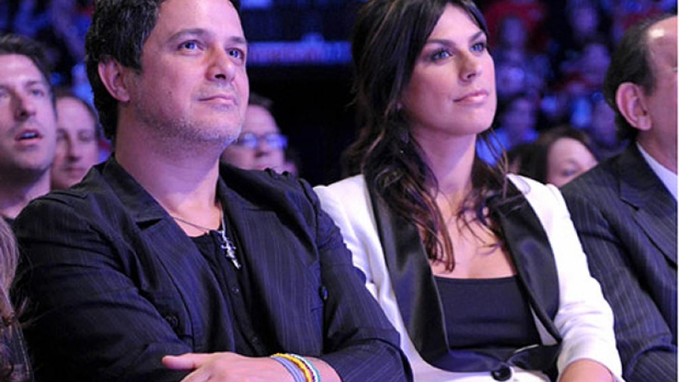 Alejandro y Raquel Perera, su actual mujer, quien tiene fecha de parto para los próximos días. (Foto: Web)