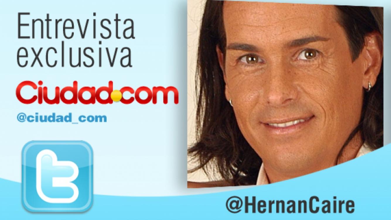Entrevista en vivo con Hernán Caire