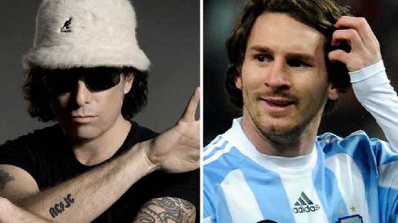 Andrés Calamaro defendió a Lionel Messi. (Foto: Web).