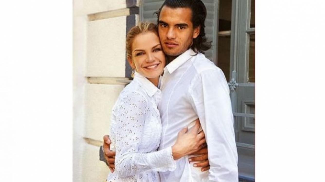 Eliana Guercio y Sergio Romero, su esposo. (Foto: Web)