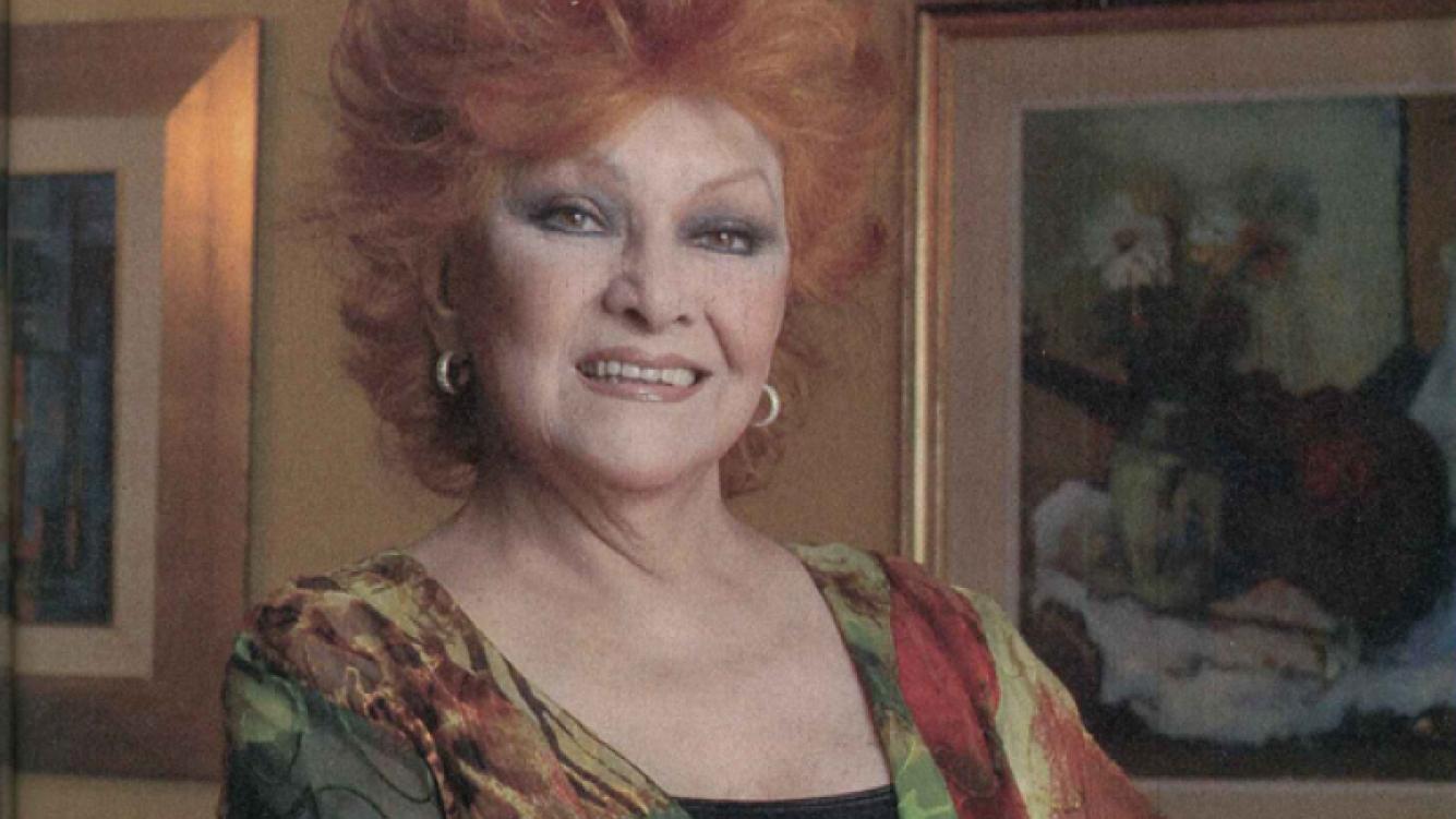Ethel Rojo. (Foto: revista Pronto)