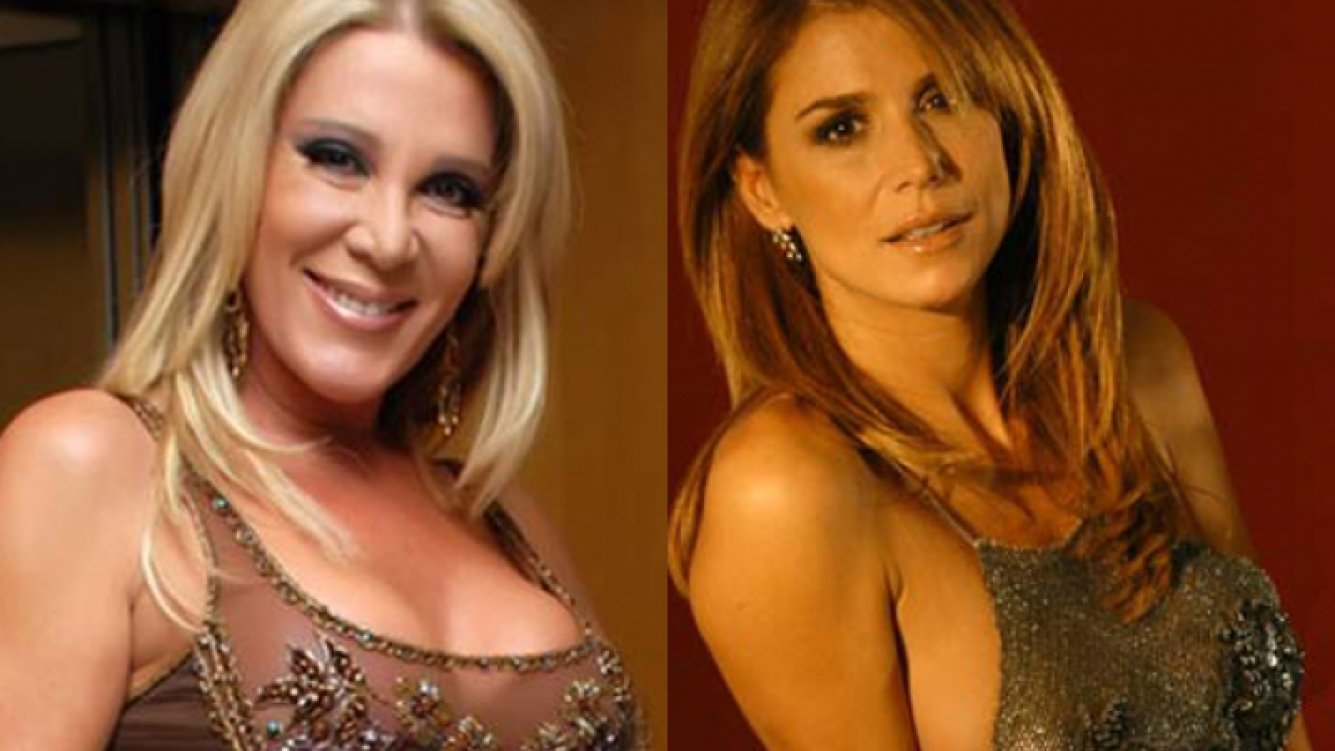 Reina Reech y Flavio Palmiero, enfrentadas. (Foto: Web)