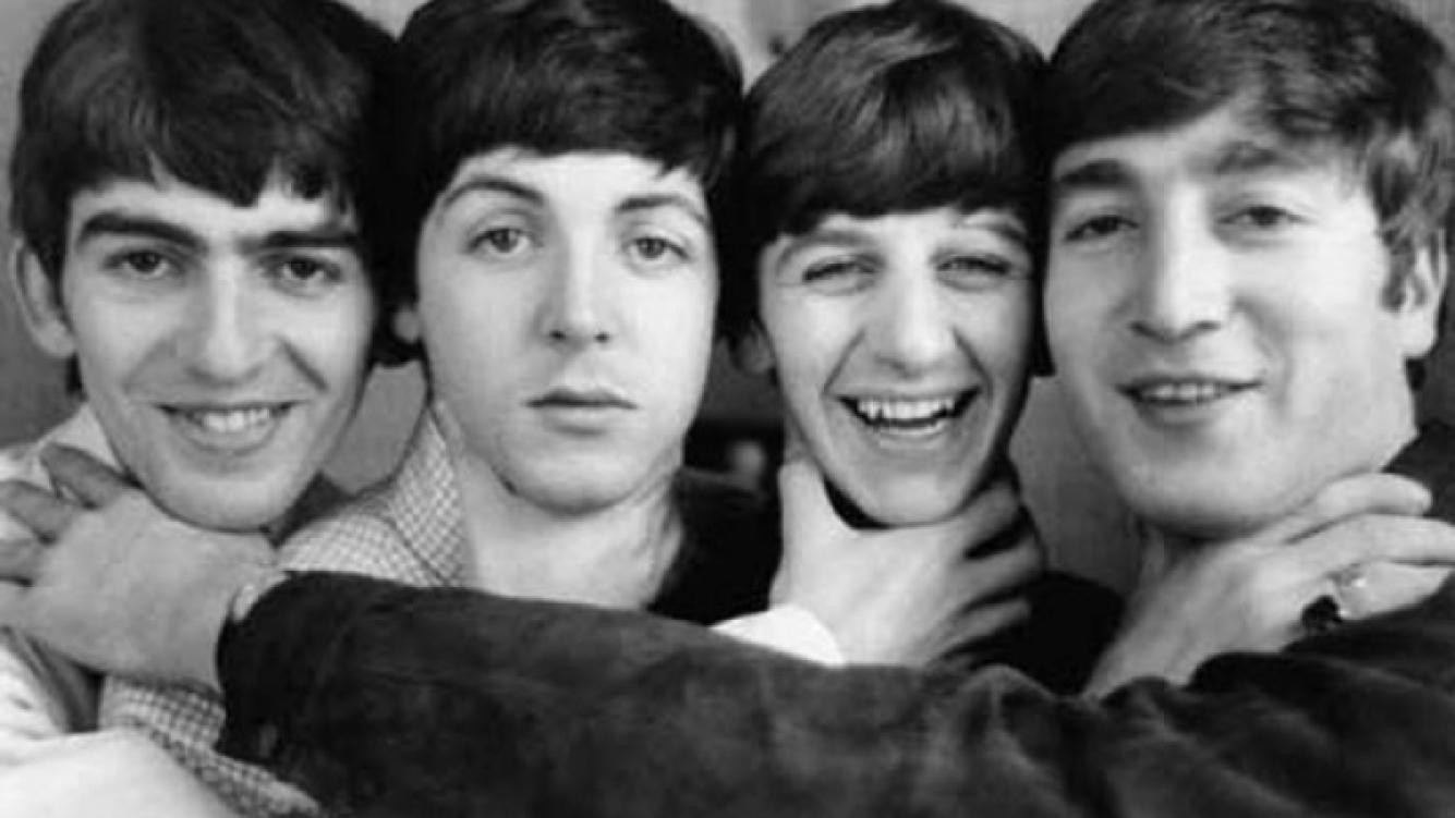 Los Beatles, muy jovencitos. En 2012 tocarán en los Juegos Olímpicos de Londres, ayuda tecnológica mediante. (Foto: Web)