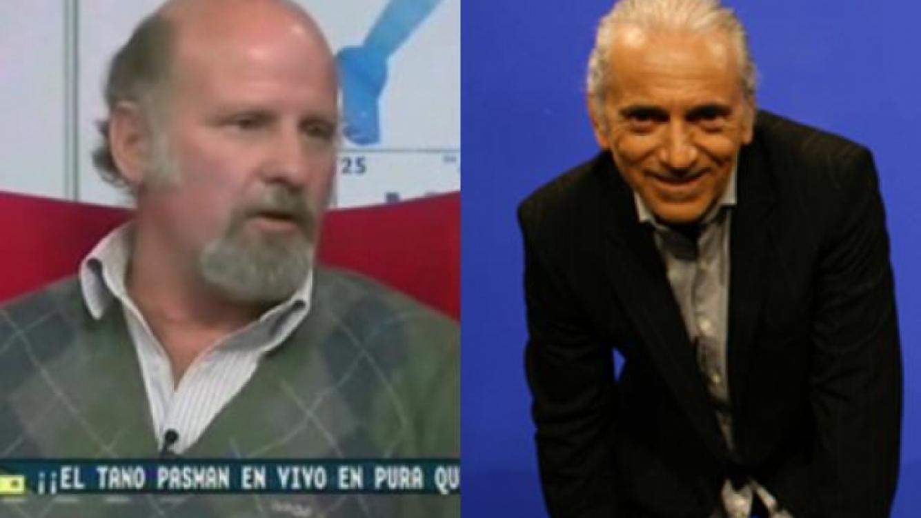 Tano Pasman y Walter Nelson. (Foto: Web)