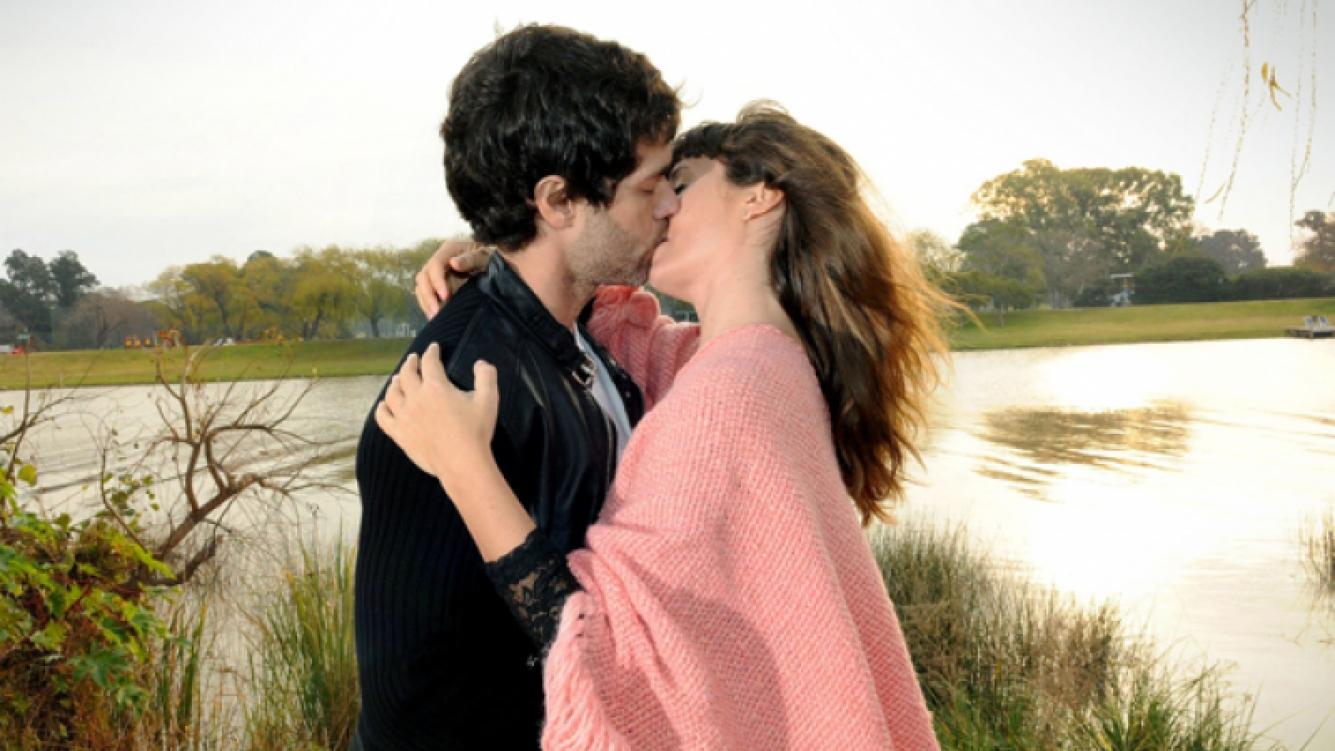 Martínez y Siciliani grabaron su primer beso en Los Unicos (Foto: El Trece).