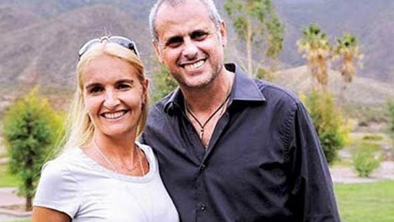 Silvia D Auro y Jorge Rial. La esposa del conductor hará radio. (Foto: Web)