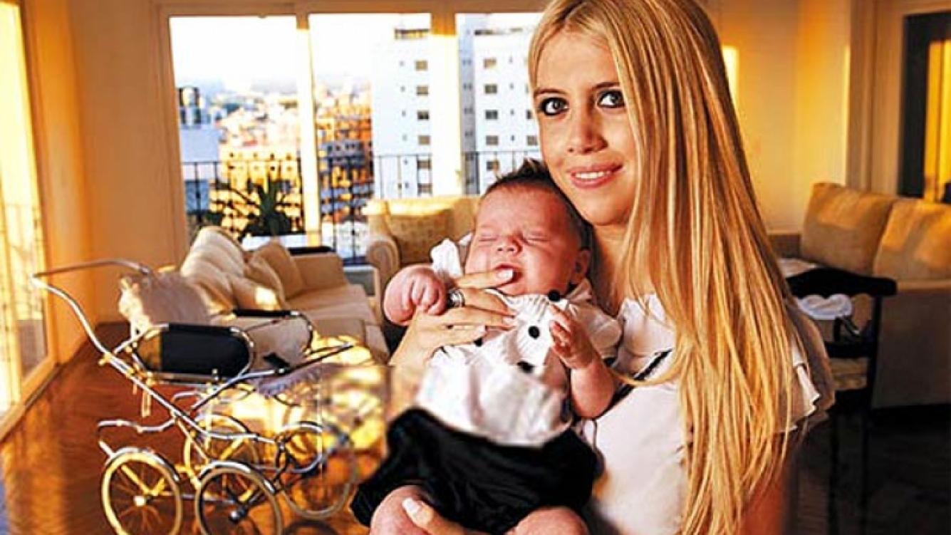 Wanda ya es madre de dos varoncitos: Constantino y Valentino. (Foto: Web)