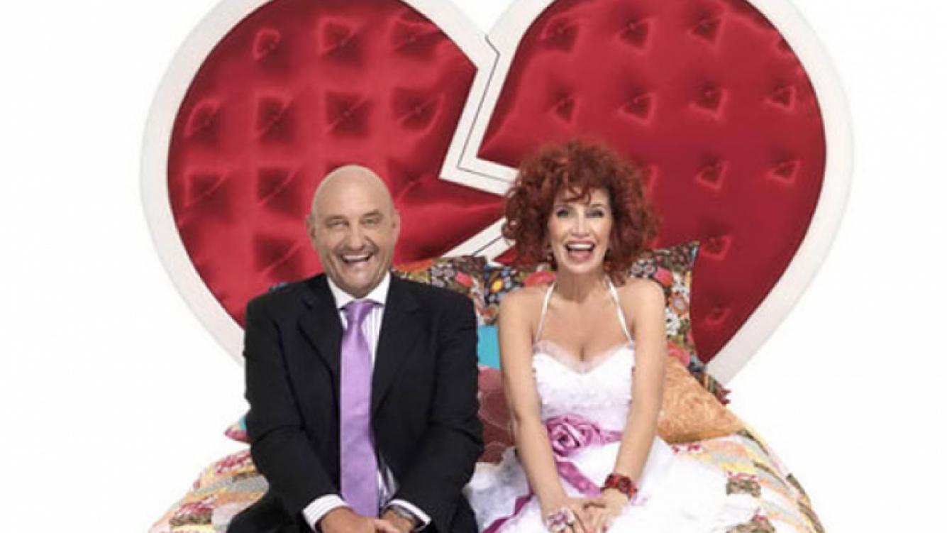 El Puma Goity y Florencia Peña son el matrimonio Camas. (Foto: Canal 7)
